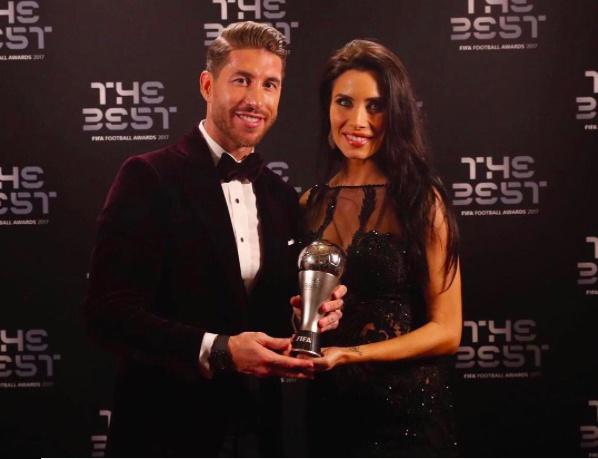 Messi va Ramos cung di an o London sau gala 'The Best' hinh anh 8