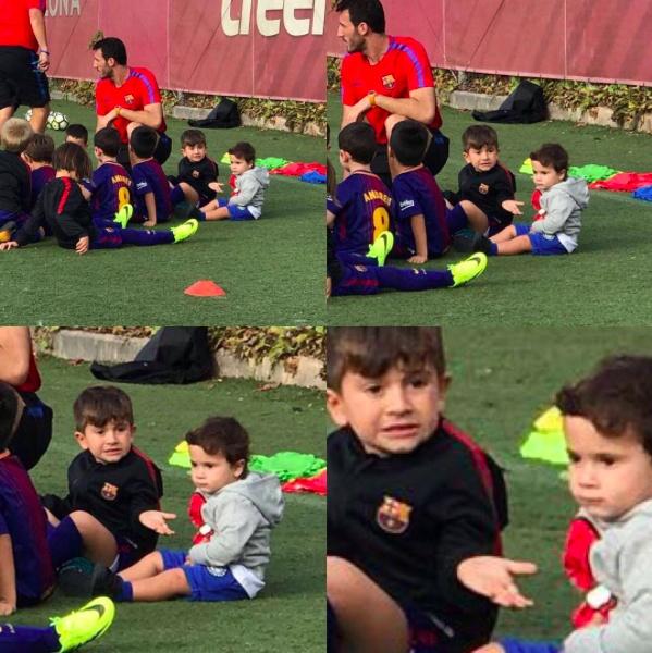 Messi va Ramos cung di an o London sau gala 'The Best' hinh anh 6