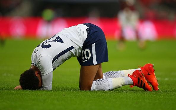Trang tieu su cua Dele Alli bi boi nho sau tran Tottenham thua MU hinh anh