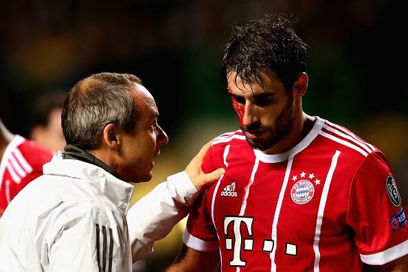 Sao Bayern chay mau dam dia sau khi ghi ban danh bai Celtic hinh anh