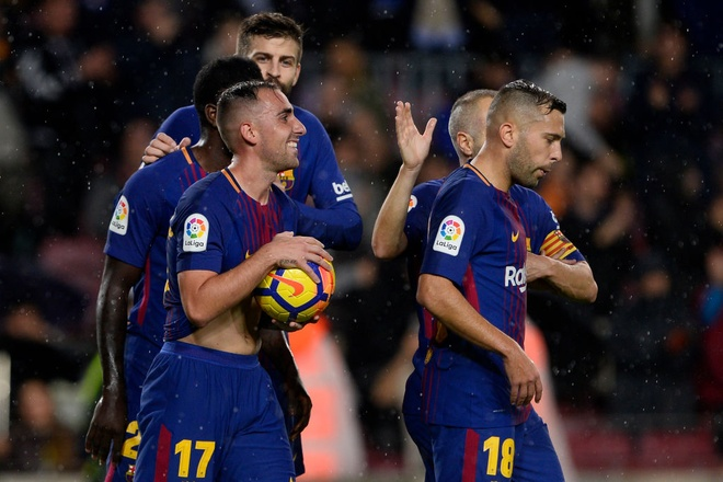 Highlights Barca 2-1 Sevilla hinh anh