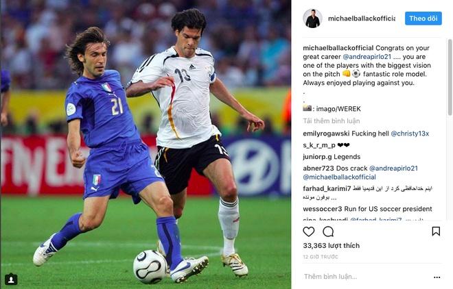 Ro beo, Zidane va Totti cung gui loi tri an Pirlo hinh anh 5