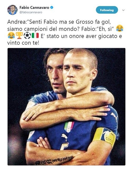 Ro beo, Zidane va Totti cung gui loi tri an Pirlo hinh anh 6