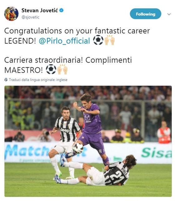Ro beo, Zidane va Totti cung gui loi tri an Pirlo hinh anh 14