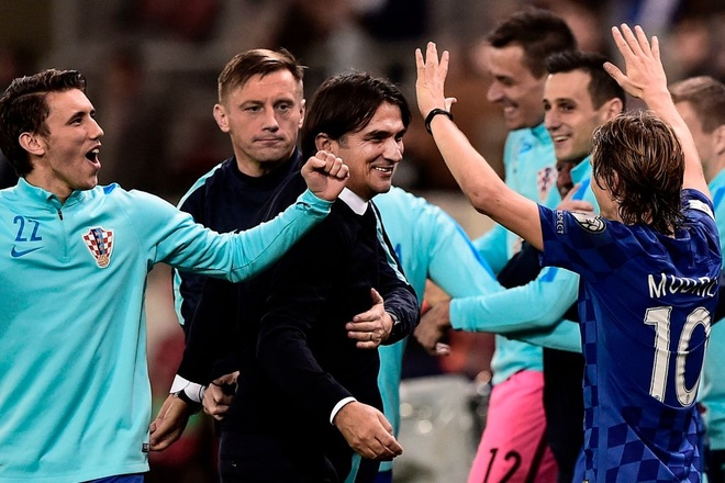 Thang play-off, Thuy Si va Croatia du World Cup 2018 hinh anh