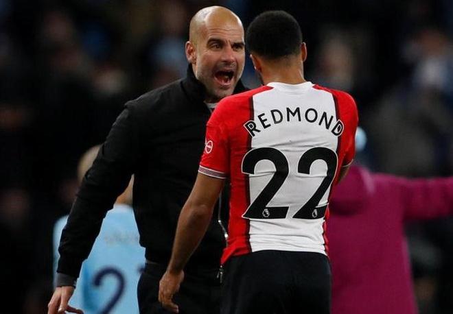 Guardiola phi vao san, quat thang mat cau thu Southampton hinh anh