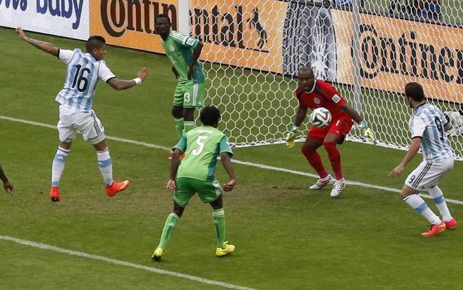 duyen no Argentina vs Nigeria anh 5
