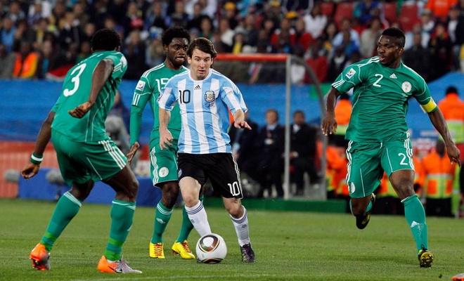 duyen no Argentina vs Nigeria anh 1