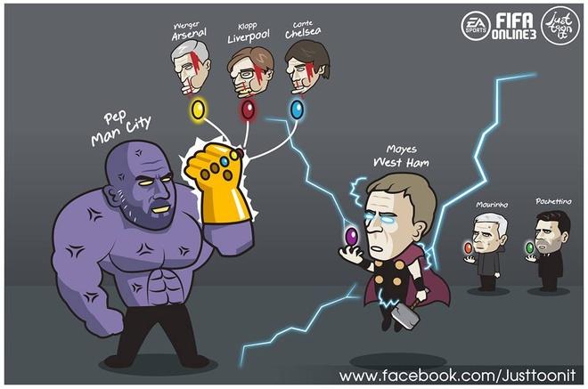 Biem hoa NH Anh theo trailer 'Avengers: Infinity War' dang gay sot hinh anh 1