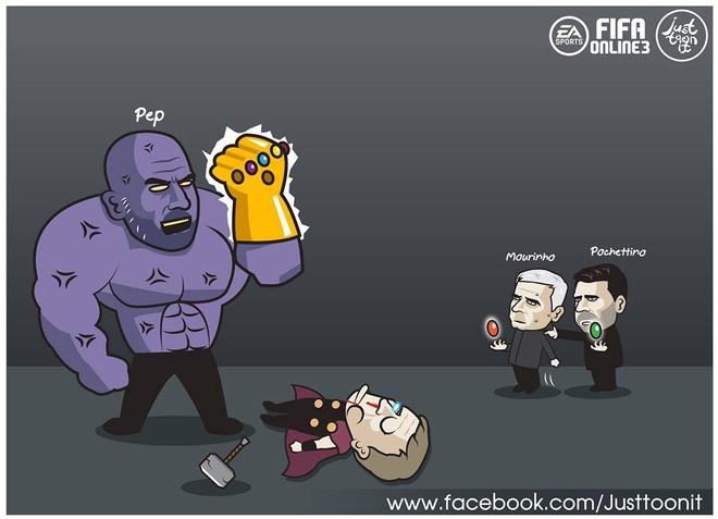 Biem hoa NH Anh theo trailer 'Avengers: Infinity War' dang gay sot hinh anh 3
