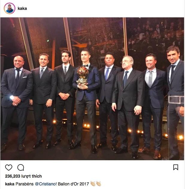 Ronaldo gianh qua bong vang 2017 anh 7