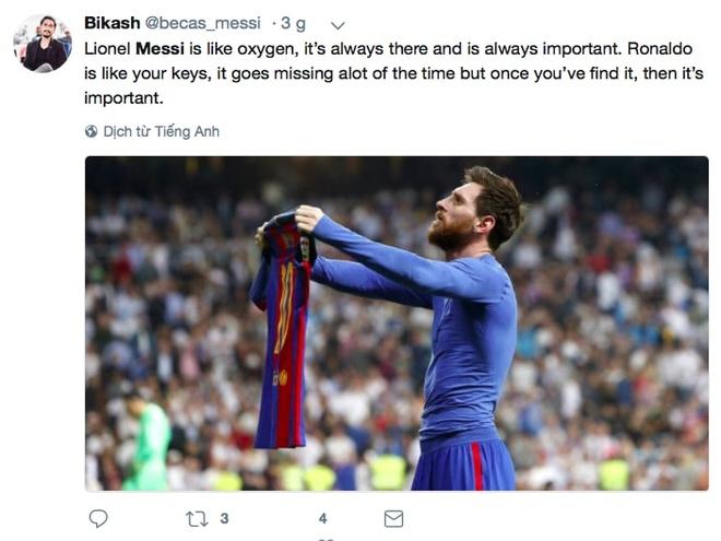 Phe cua Messi cay cu khi Ronaldo gianh qua bong vang hinh anh 8