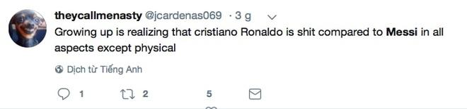 Phe cua Messi cay cu khi Ronaldo gianh qua bong vang hinh anh 5
