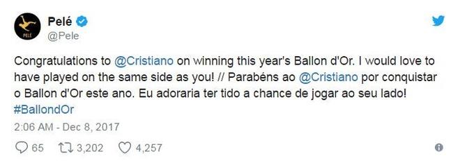 Ronaldo gianh qua bong vang 2017 anh 5