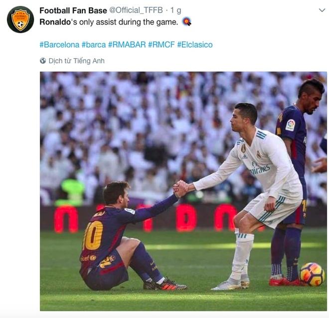 Ronaldo hung mua che nhao trong ngay mat tich o El Clasico hinh anh 12