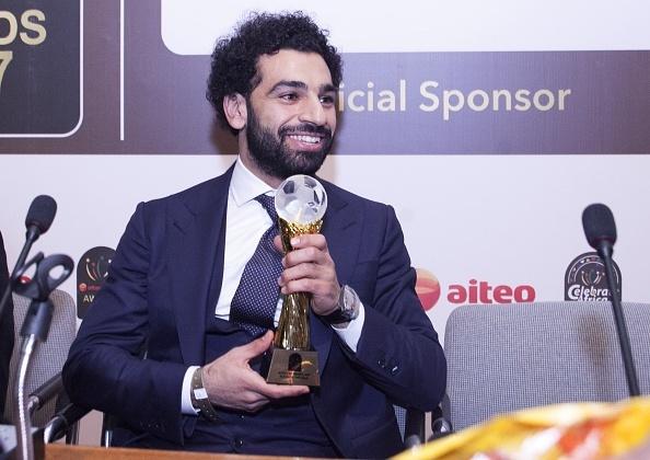 Salah thang giai Cau thu hay nhat chau Phi 2017 hinh anh