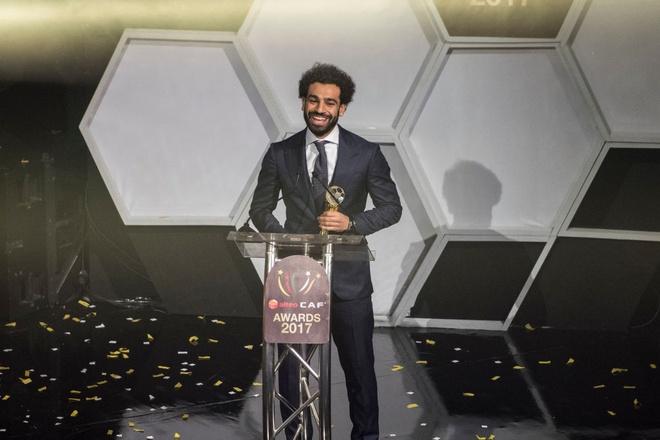 Salah thang giai Cau thu hay nhat chau Phi 2017 hinh anh 2