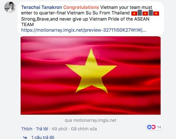 CDV quoc te chuc mung Viet Nam ha guc Australia hinh anh 2