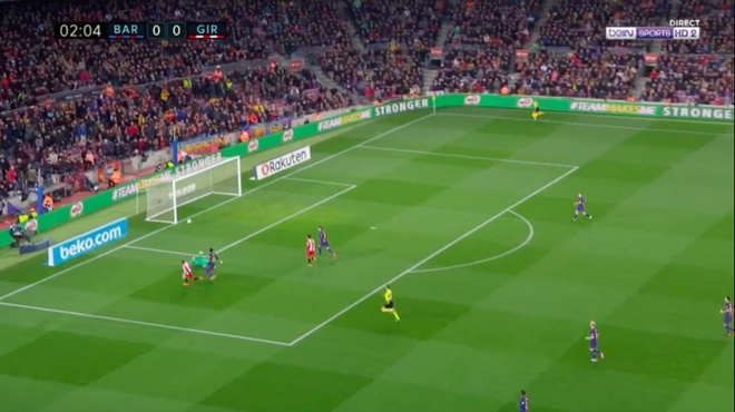 Coutinho ghi sieu pham, Messi lap cu dup giup Barca thang 6-1 hinh anh 1