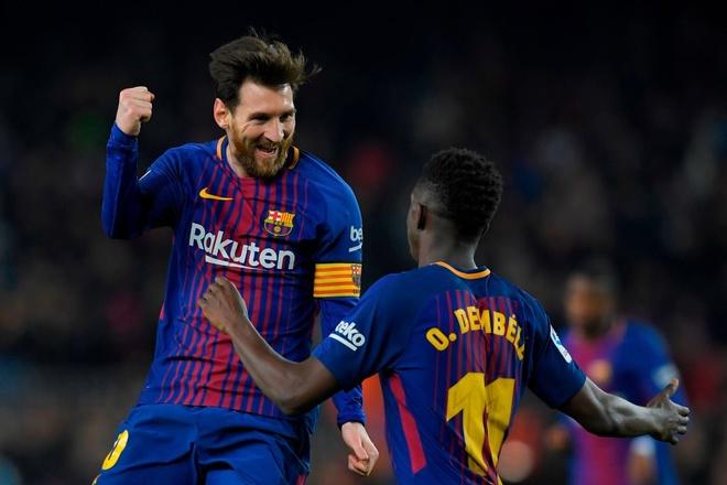Coutinho ghi sieu pham, Messi lap cu dup giup Barca thang 6-1 hinh anh 5