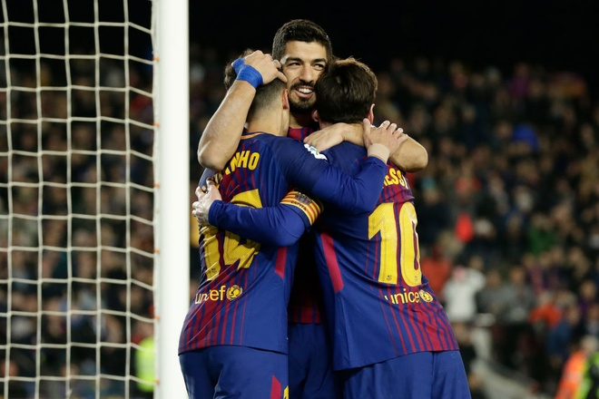 Coutinho ghi sieu pham, Messi lap cu dup giup Barca thang 6-1 hinh anh 10
