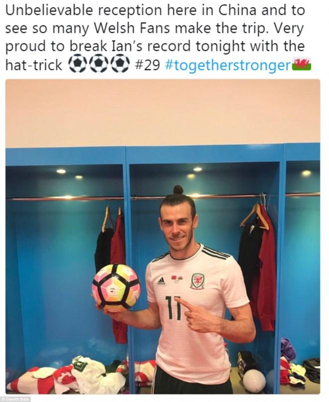 Bale ghi danh lich su bong da xu Wales o vi tri trang trong nhat hinh anh 2