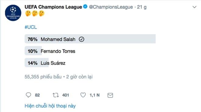Neu QBV duoc bau qua mang, Salah co the danh bai Ronaldo hinh anh 2