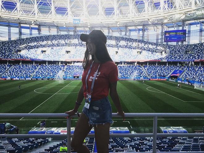 World Cup 2018 la cuoc dua cua loat CDV xinh dep va nong bong hinh anh 4