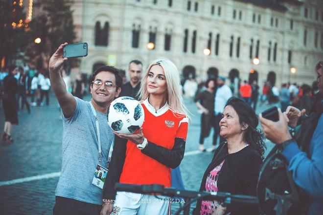 World Cup 2018 la cuoc dua cua loat CDV xinh dep va nong bong hinh anh 19