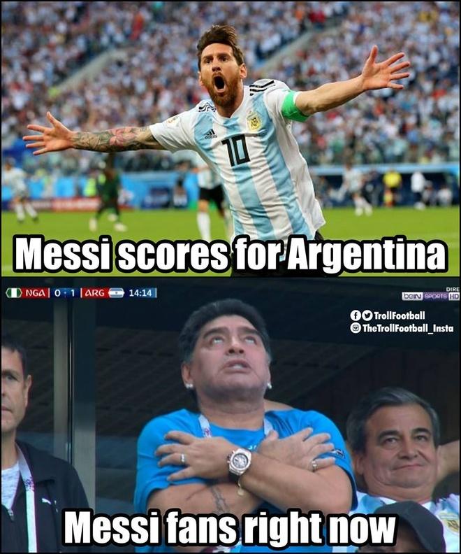 Mang xa hoi tran ngap anh che sau chien thang lich su cua Argentina hinh anh 8