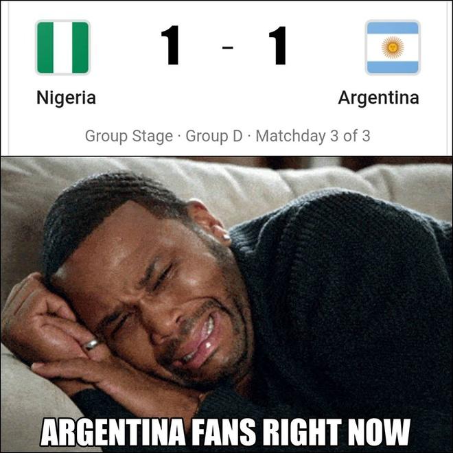 Mang xa hoi tran ngap anh che sau chien thang lich su cua Argentina hinh anh 1
