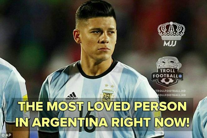 Mang xa hoi tran ngap anh che sau chien thang lich su cua Argentina hinh anh 5