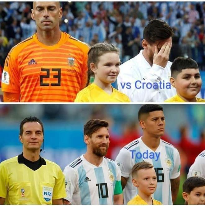 Mang xa hoi tran ngap anh che sau chien thang lich su cua Argentina hinh anh 3