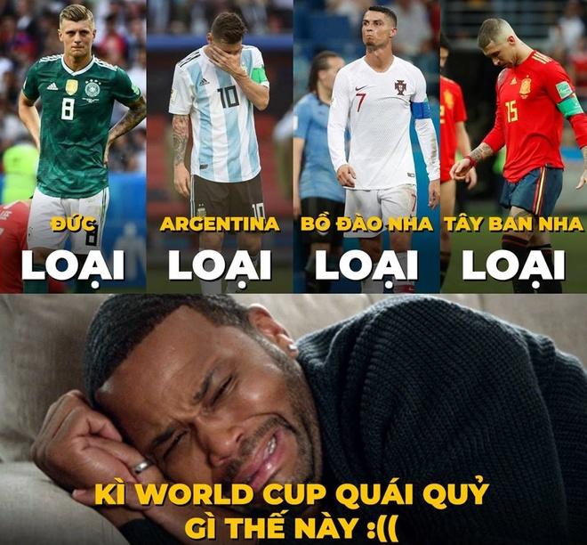 Messi cung dan sao san co chia tay World Cup bi treu dua tren mang hinh anh 1