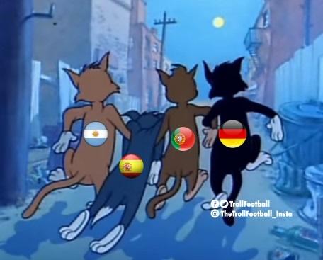 Messi cung dan sao san co chia tay World Cup bi treu dua tren mang hinh anh 3