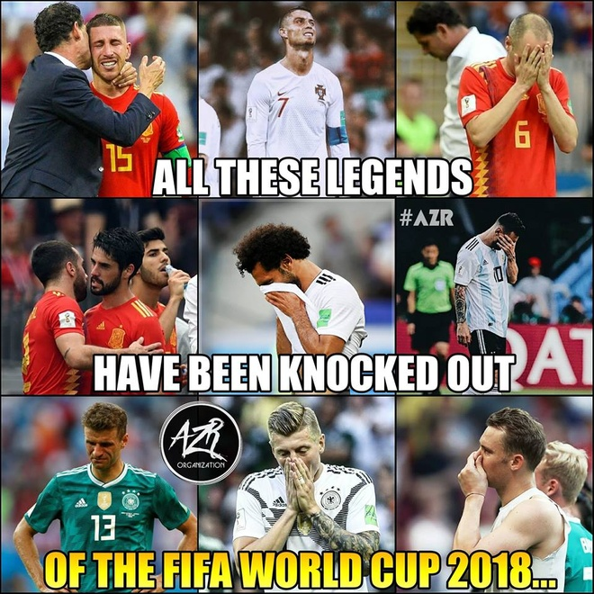 Messi cung dan sao san co chia tay World Cup bi treu dua tren mang hinh anh 9