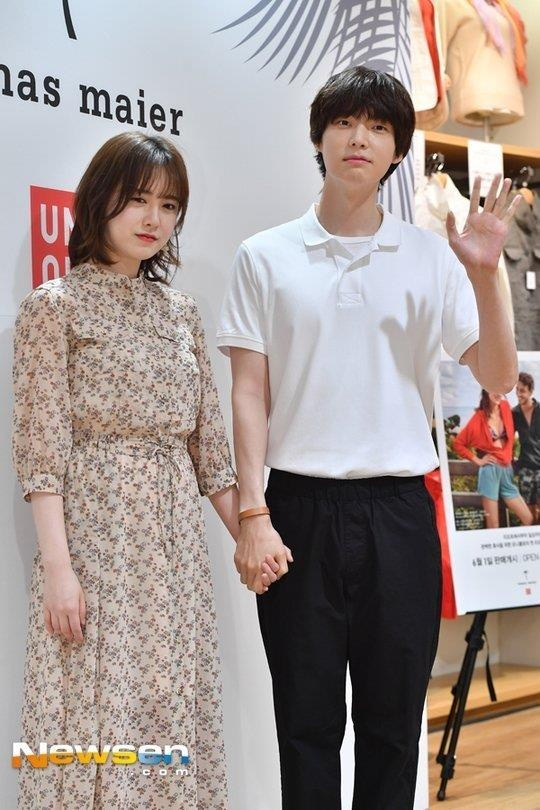 thoi trang cua Goo Hye Sun va Ahn Jae Hyun anh 16
