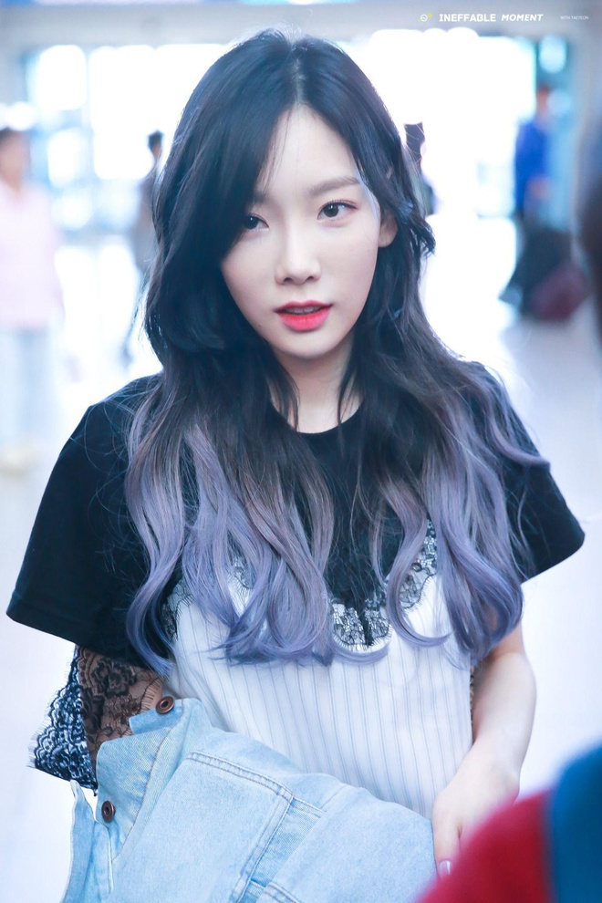 Taeyeon nhuom toc vang anh 1