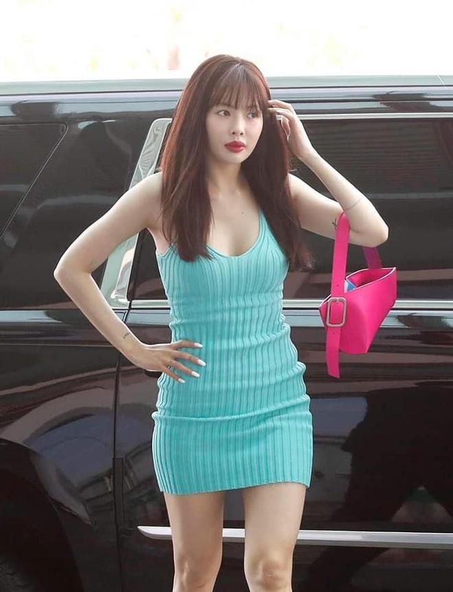 HyunA chuong phong cach ho nguc, mac do khong giong ai hinh anh 7