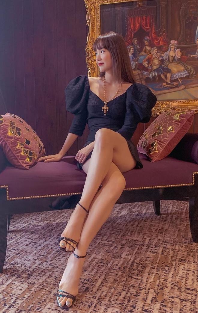 Chi Pu va dan my nhan Viet khoe duong cong sexy trong vay bo sat hinh anh 9