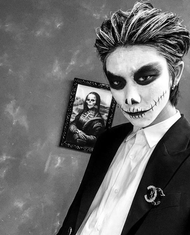 trang phuc Halloween an tuong cua idol Han anh 2