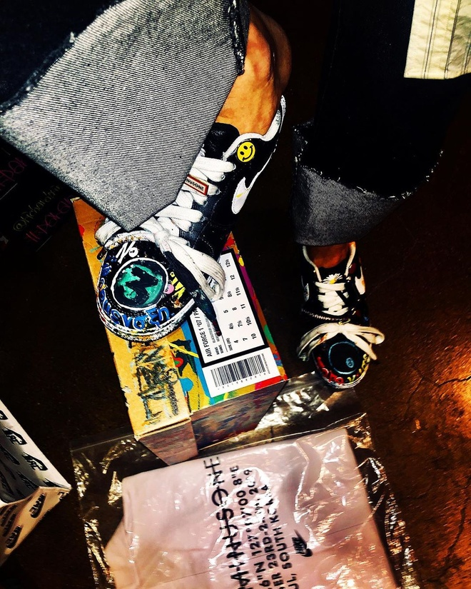 G-Dragon hop tac voi Nike anh 2