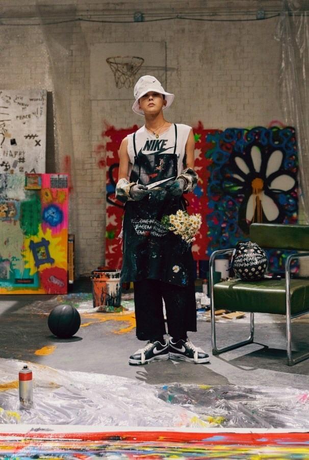 G-Dragon hop tac voi Nike anh 8