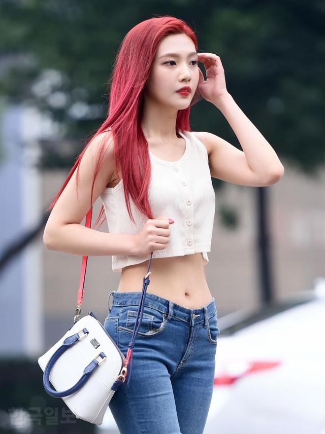 Red Velvet chi uong nuoc bi ngo, nhay day 10.000 lan de giam can hinh anh 7