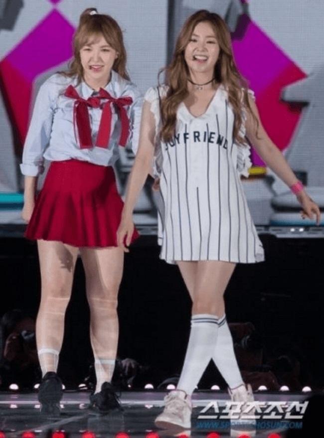 Red Velvet chi uong nuoc bi ngo, nhay day 10.000 lan de giam can hinh anh 4