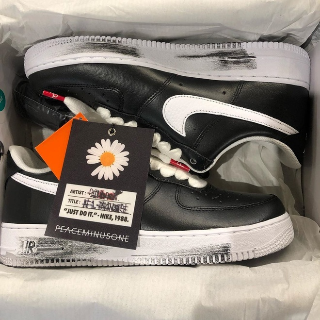 giay Nike Air Force 1 x PEACEMINUSONE Para-noise anh 1