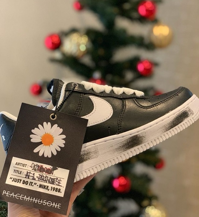 giay Nike Air Force 1 x PEACEMINUSONE Para-noise anh 5
