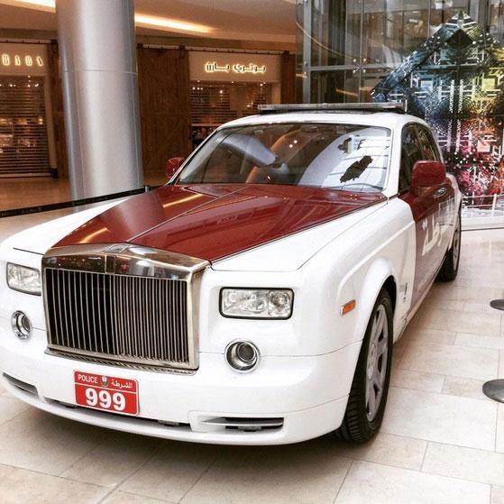 Rolls-Royce Phantom gia nhap dan xe canh sat Abu Dhabi hinh anh 2
