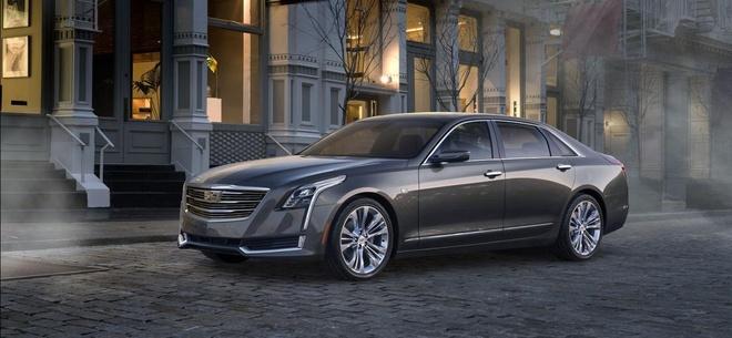 Cadillac CT6 2016 - doi thu cua BMW 7-Series hinh anh