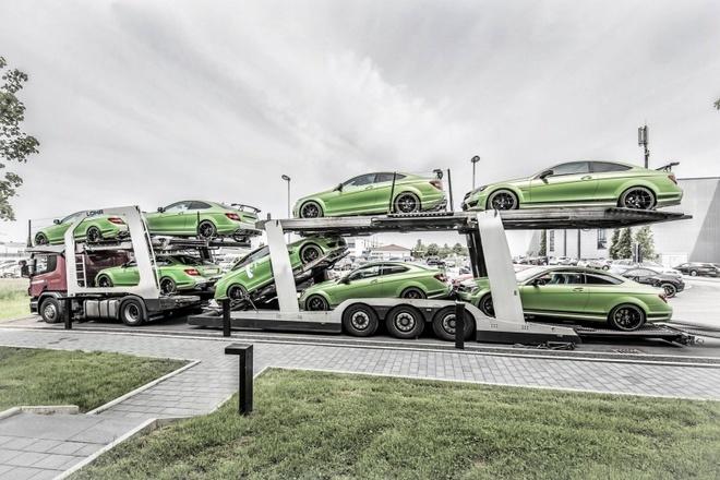 Hang hiem Mercedes C63 AMG Coupe Legacy Edition trinh lang hinh anh
